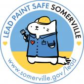 Lead Paint Safe Somerville Mascot, Francis