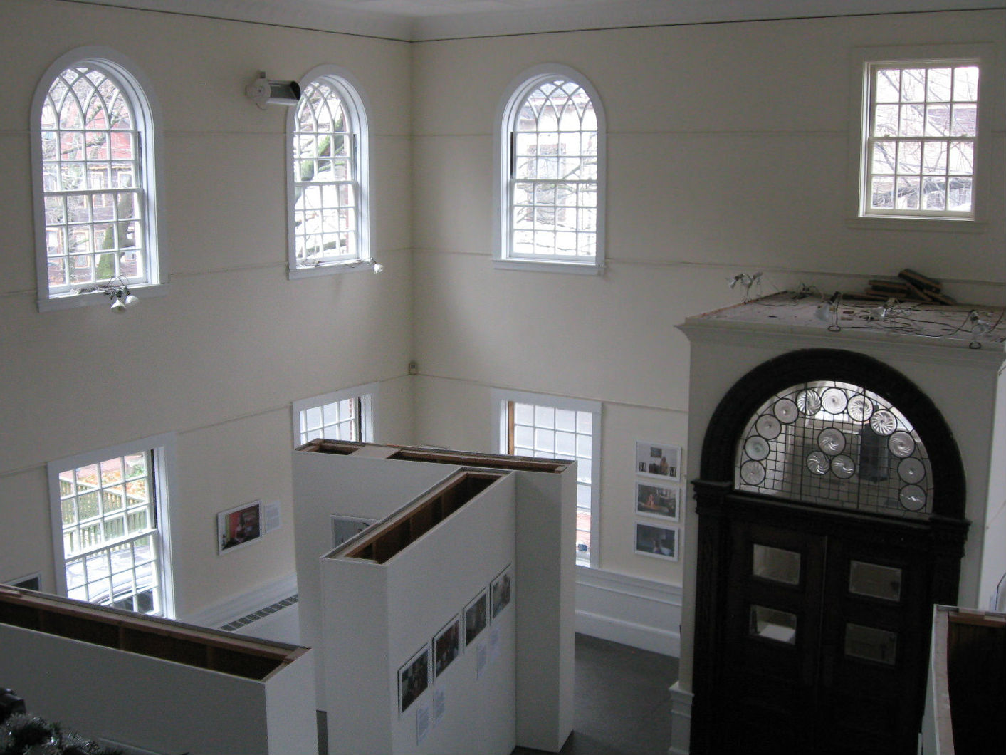 Interior of Somerville Museum