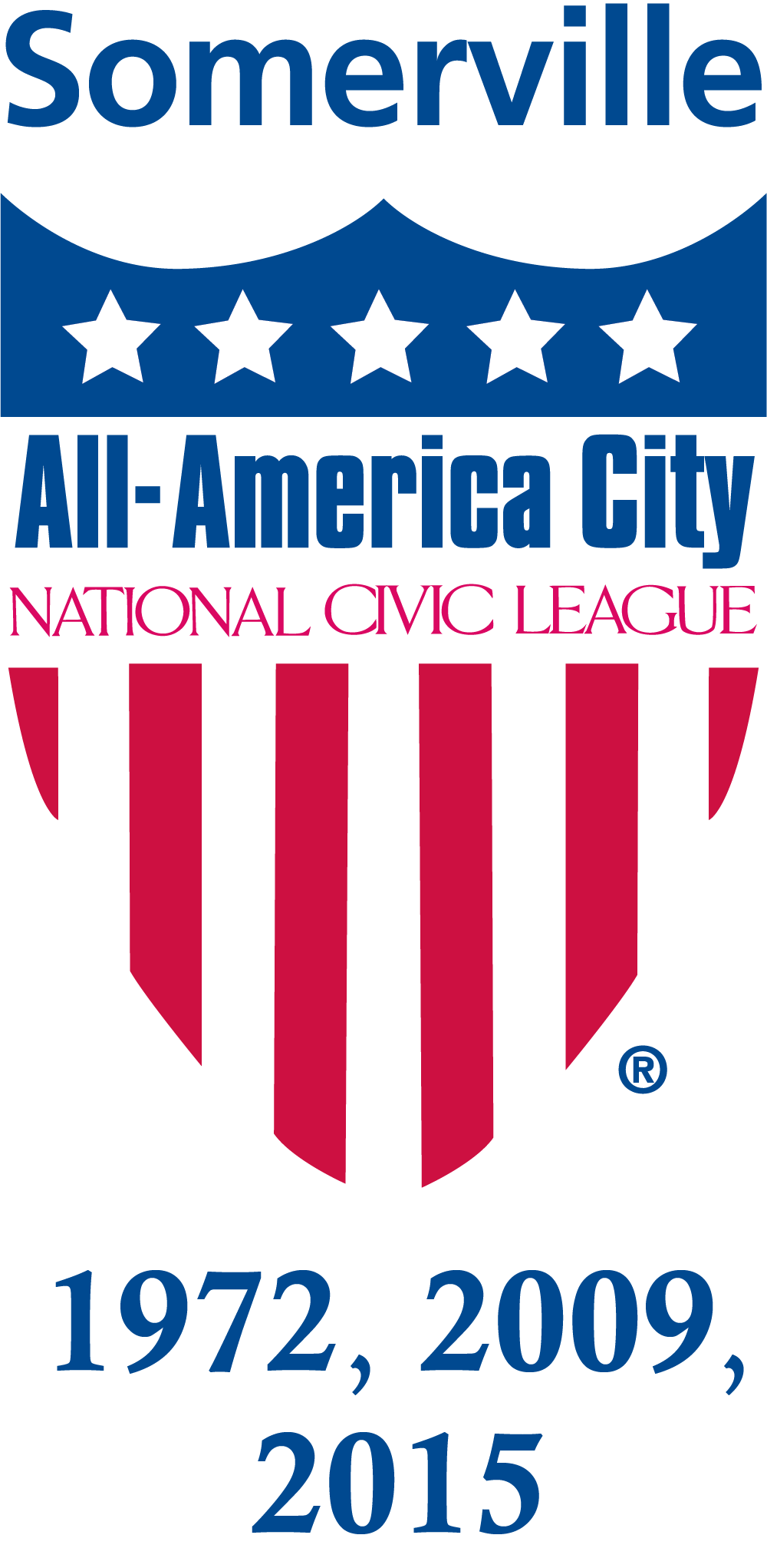 All-America City Award - National Civic League: The City of Somerville (1972, 2009, 2015)