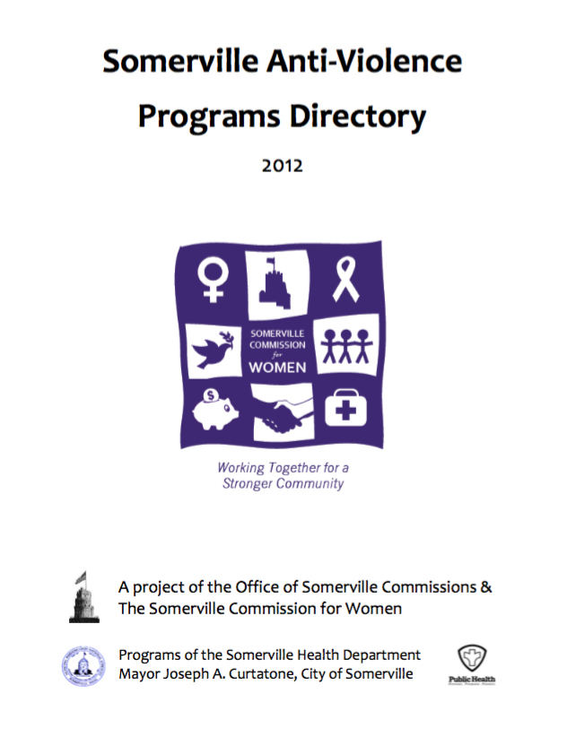 Preview of anti-violence directory PDF