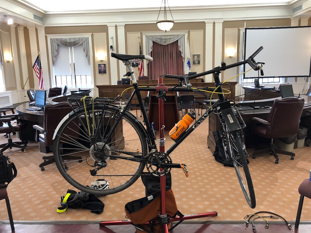 Bicycle in the BOA Chambers