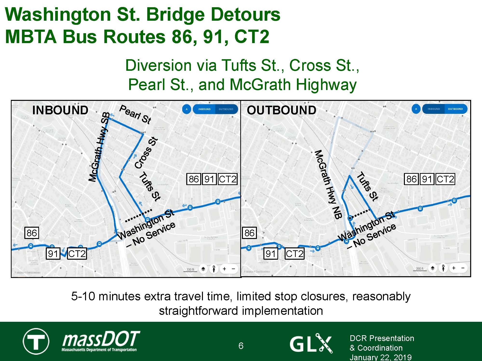 Broadway Bridge closure bus detours