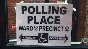 Photo of the Ward 2, Precinct 2 polling place
