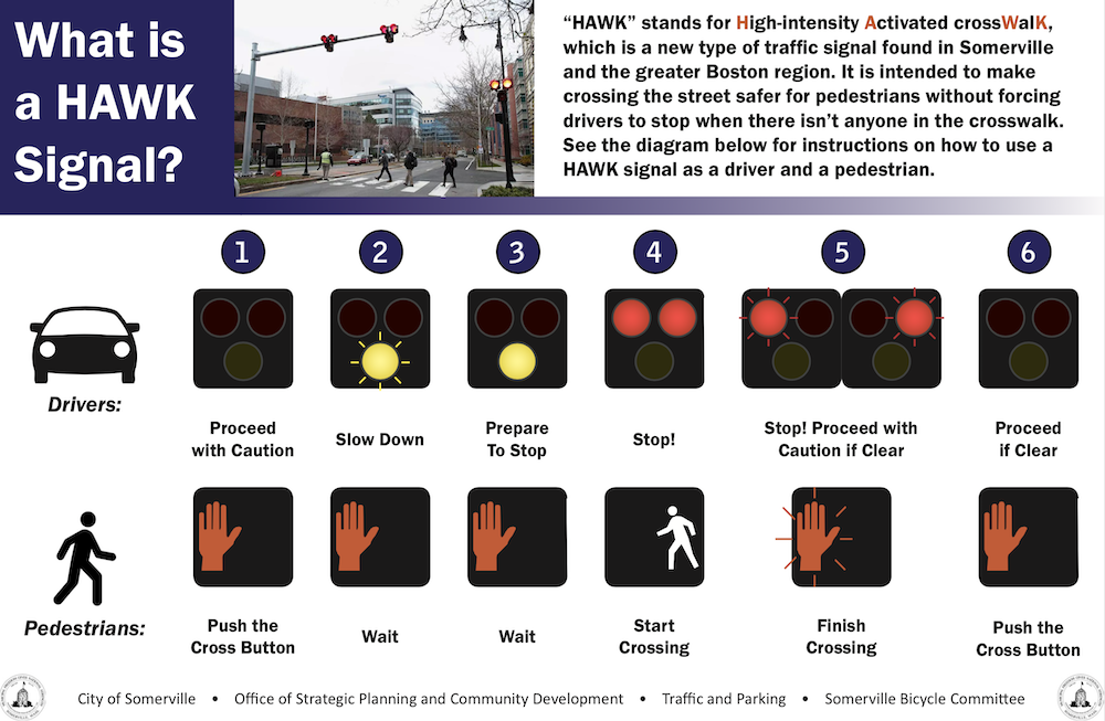 HAWK beacon traffic signal brochure