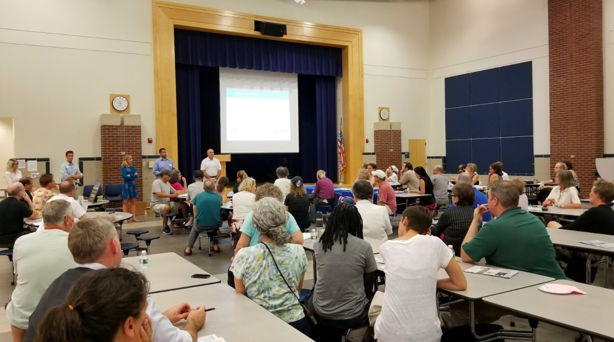 More than 60 residents joined City staff, volunteers, consultants, and installers for the HeatSmart/CoolSmart Kick-off Workshop!