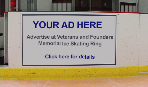 Your Ad Here: Advertise at Veterans and Founders Memorial Ice Skating Rink