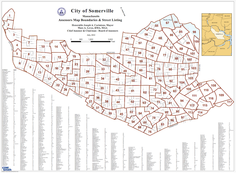 Assessor's Maps | City of Somerville