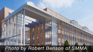 Design rendering of the new Somerville High School