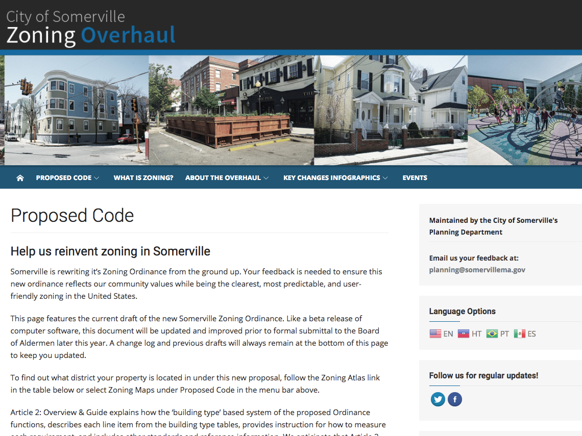 Thumbnail preview of SomervilleZoning.com