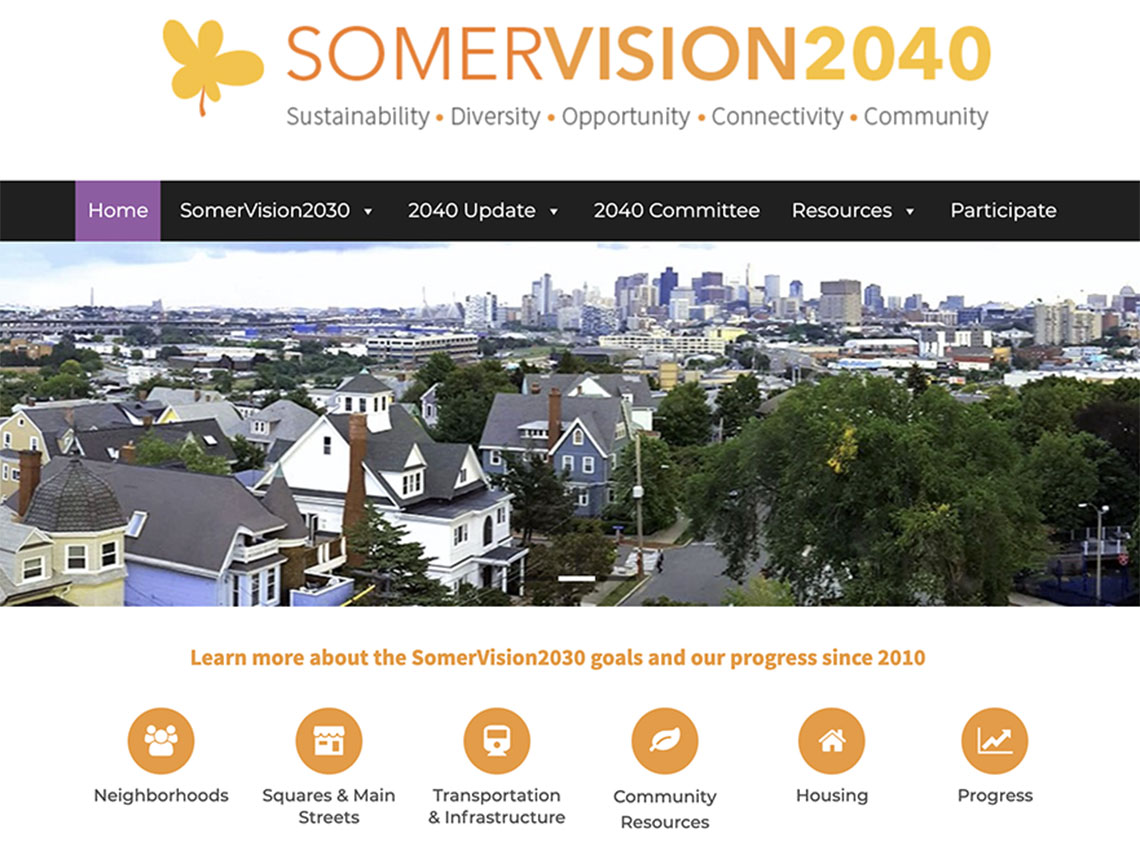 Thumbnail preview of SomerVision2040.com