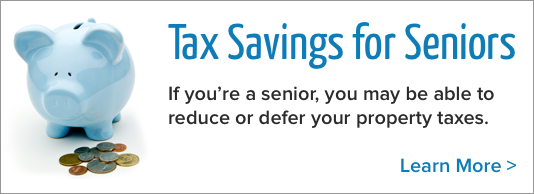 Tax savings for seniors: If you're a senior, you may be able to reduce or defer your property taxes. Learn more at www.somervillema.gov/SeniorTaxHelp
