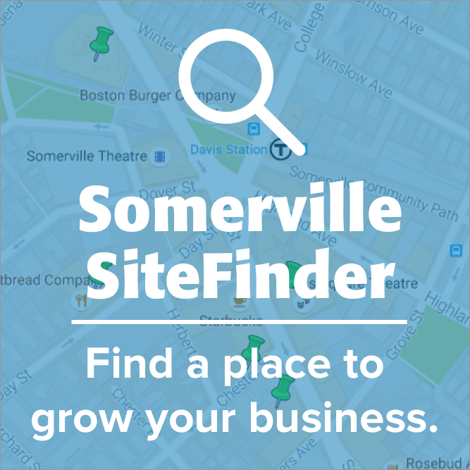 Somerville SiteFinder: Find a Place to Grow Your Business