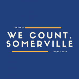 We count Somerville. Census 2020.