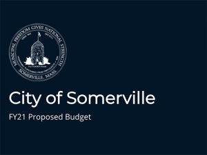 FY21 proposed budget