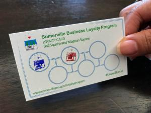 Business Loyalty Program card side