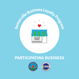 Business Loyalty Program storefront decal