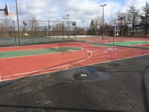Healey Schoolyard basketball courts