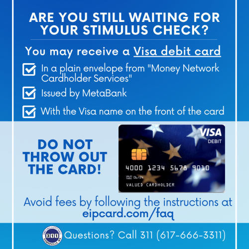 "MetaBank will be mailing the Visa debit cards in plain envelopes from ""Money Network Cardholder Services."" Do not throw away your card."