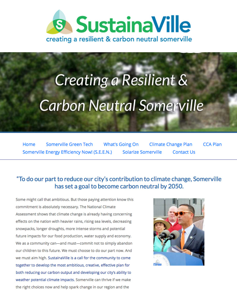 Thumbnail preview of sustainaville.com