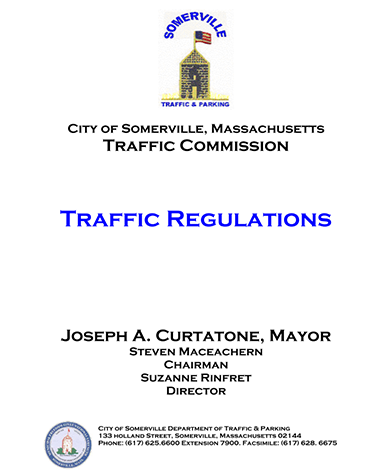 Preview of traffic regulations PDF